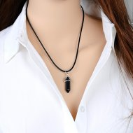 GRACE black - Necklace
