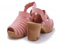 LINDA Nubuk Pale Pink  -Last in Stock