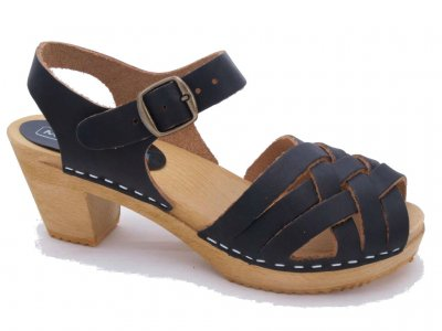 BETTY Pampas BLACK